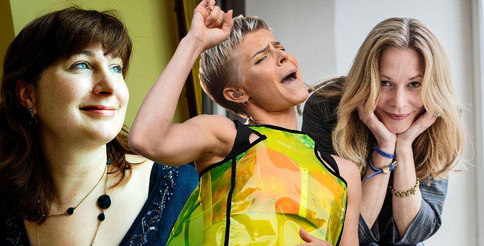 Sex svenskar på listan över Europas 50 mest inspirerande kvinnor