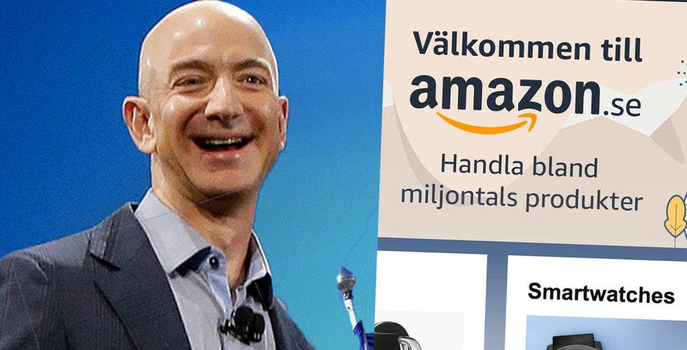 Ny rapport: Amazon störst i Sverige om 5 år
