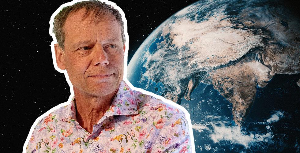 """Christer Fuglesang om klimathotet – från ett rymdperspektiv: """"Man ser hur tunn atmosfären är"""""""