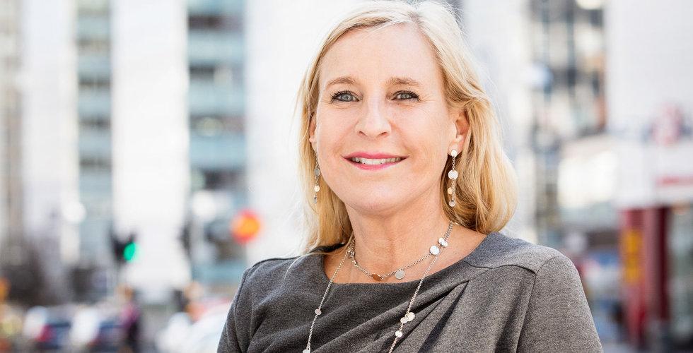 """Tidigare Bonnier-chefen Gunilla Herlitz: """"Min roll är att trycka på gaspedalen"""""""