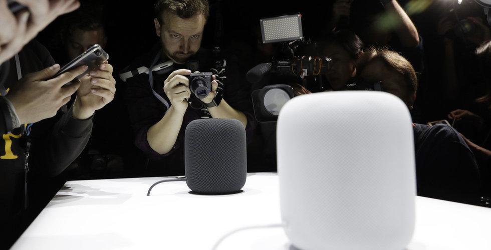 Apple lanserar Homepod i Kina
