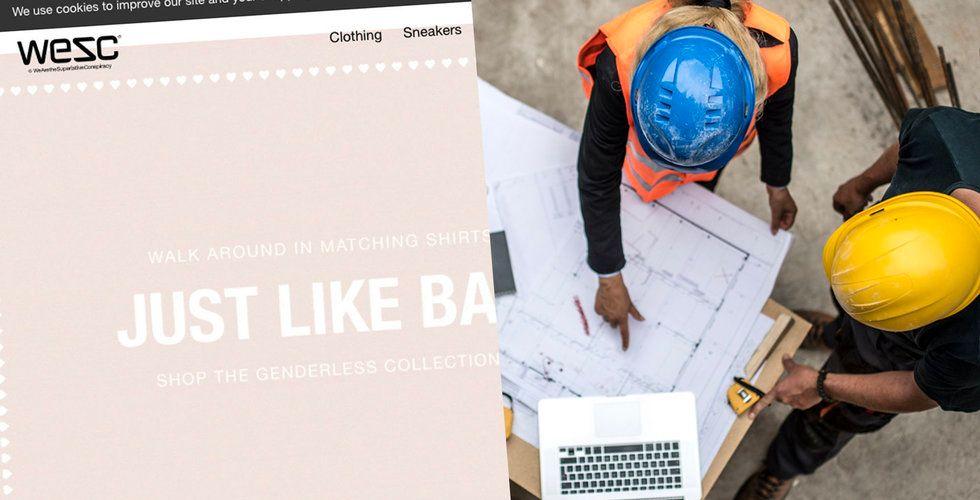 Klassiska klädbolaget blev byggbolag – nu vill Wesc ta in 215 miljoner