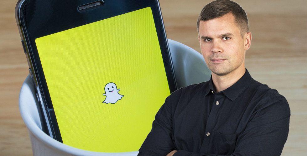 Breakit - Wisterberg: Skulle bli förvånad om Snapchat finns kvar om fem år
