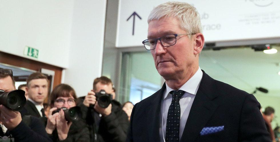 Apple stänger alla sina butiker utanför Kina i två veckor