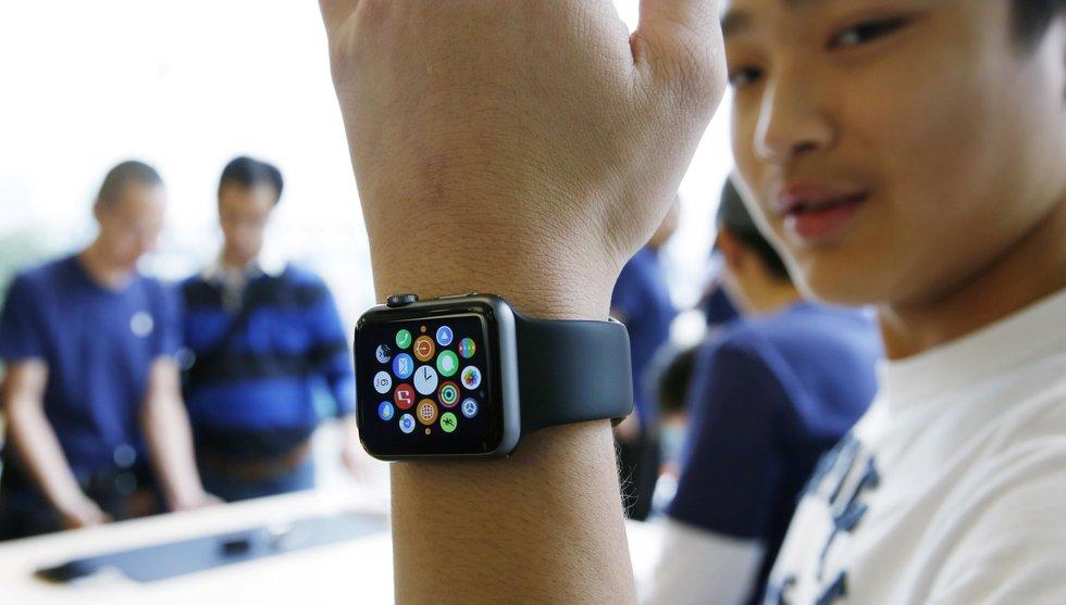 Apple nobbar Sverige i nästa släpp av sin heta klocka