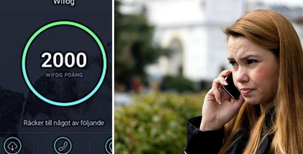 Wifog gör nytt försök med reklam som sänker din mobilräkning