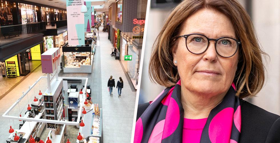 """Svensk Handel kräver krisåtgärder: """"Många företag bara dagar från undergång"""""""