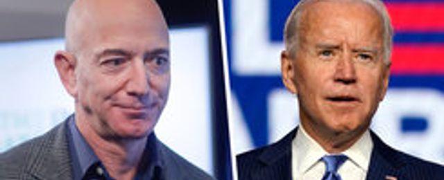 Amazon erbjuder Joe Biden hjälp att distribuera coronavaccin