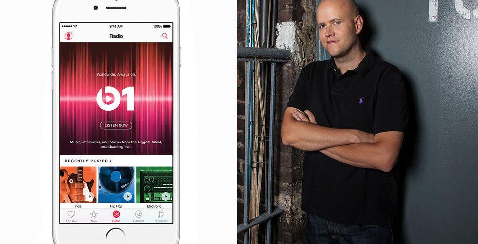 Bakslag för Spotifykonkurrent - tungviktare lämnar Apple Music