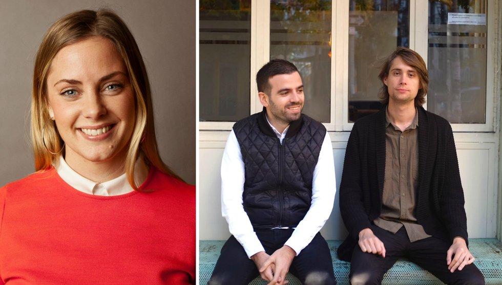 Breakit - Sophia Bendz investerar i Spotify-avhopparnas walkie talkie-app