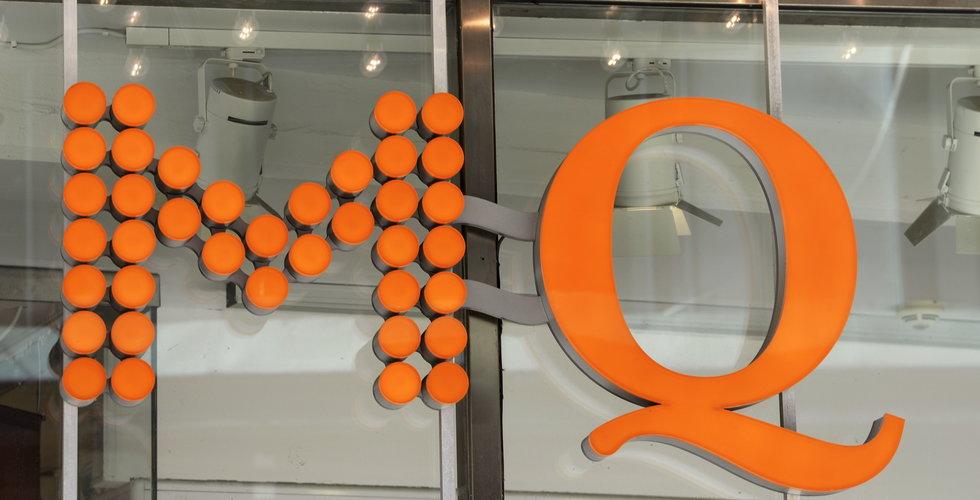 MQ gör nedskrivning på 500 miljoner kronor