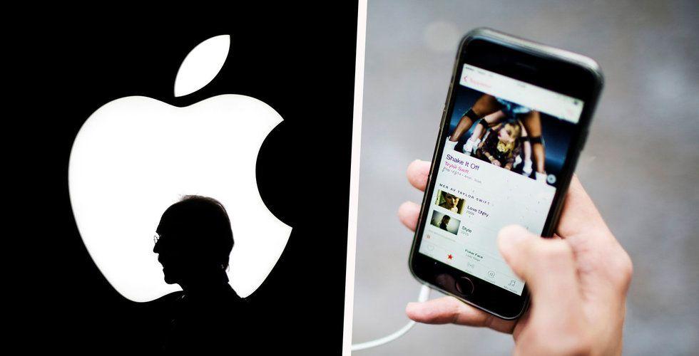 Spotify-konkurrenten Apple Music uppe i 38 miljoner betalande användare