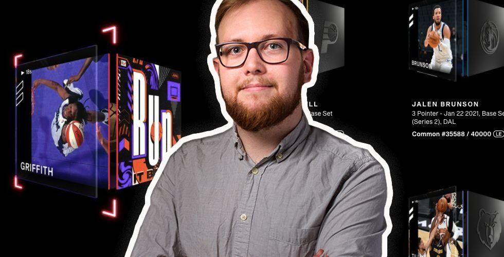 Tobias Blixt är reporter på Breakit. Foto: Press/Montage