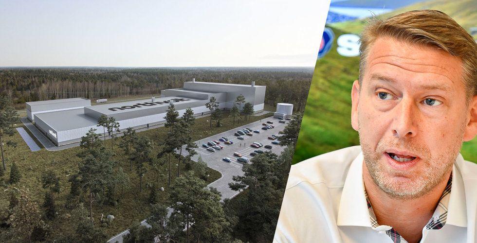 Uppgifter: Northvolt har snart fått in 16 miljarder – klart för fabrik i Skellefteå