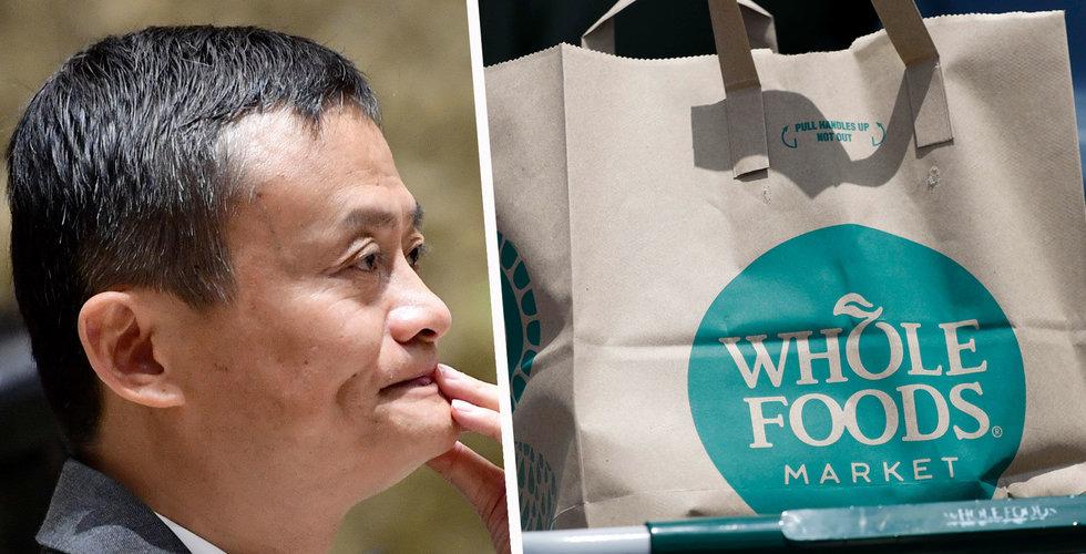 Breakit - Alibaba ska utmana Amazon på livsmedel