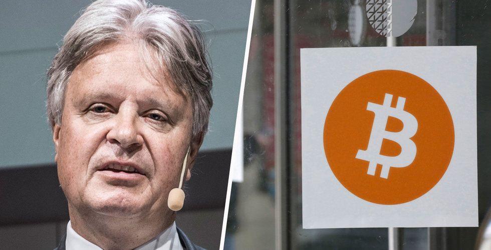 Nordea-chefen Casper von Koskull:  Ett skämt att låta bitcoin leva – absurd konstruktion