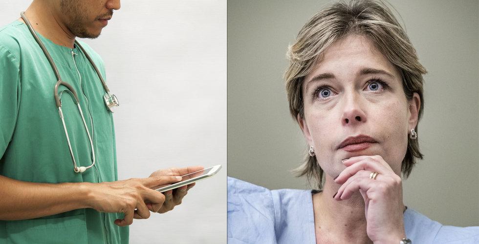 """Nu ska regeringen styra upp den digitala vården: """"Måste redas ut"""""""