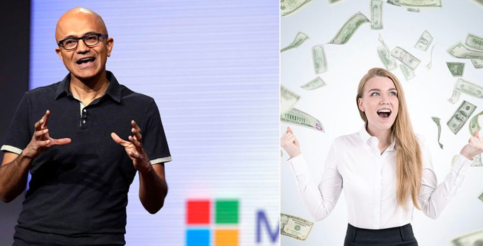 Microsoft – så hög lön har de anställda