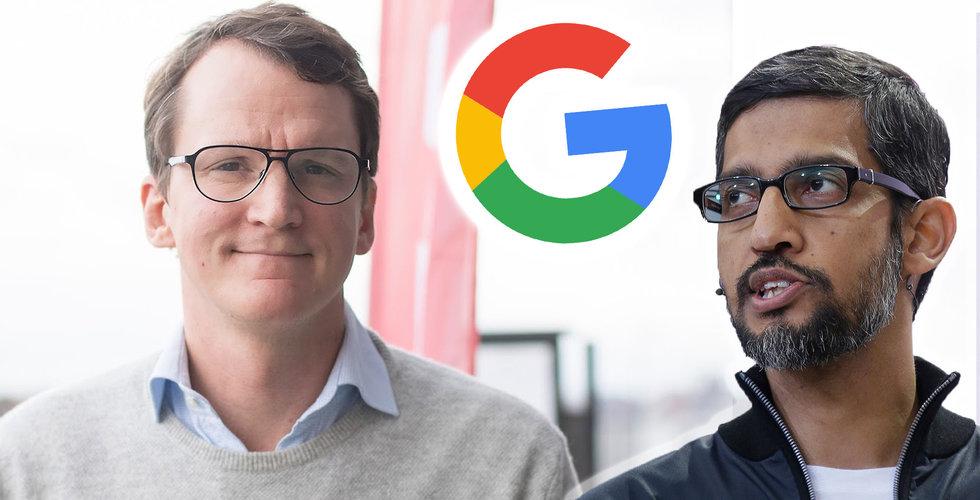 Breakit - Nicklas Storåkers kan kosta Google 133 miljoner – om dagen