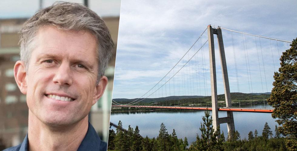 """Staffan Helgesson om varför pengarna hamnar i city: """"Inget ont om Kramfors men..."""""""