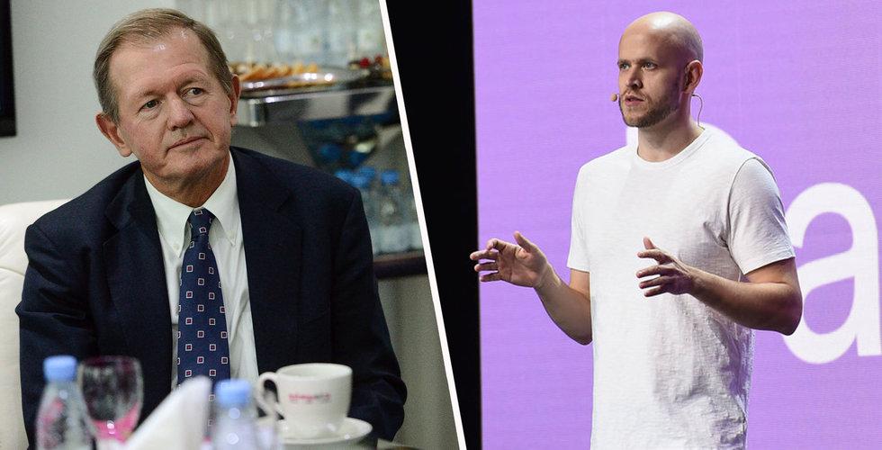Wallenberg, Olsson och Stenbeck - tunga ägare in i Spotify-grundarens techfestival