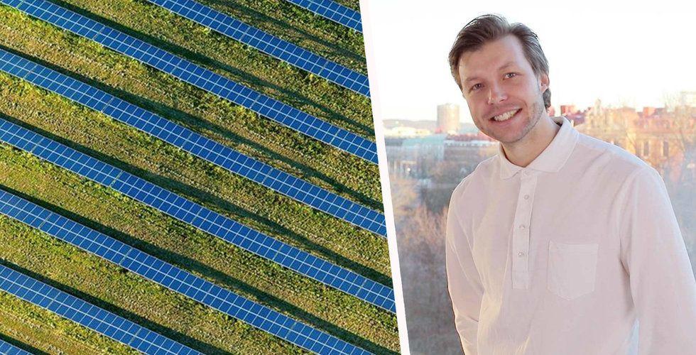 Breakit - Korys investerar 50 miljoner i Greenbyte – Ska optimera förnyelsebar energi