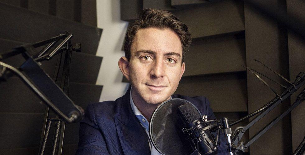 Henric Smolak fick idén på en AW – nu lyssnar 20.000 på podden Under 15
