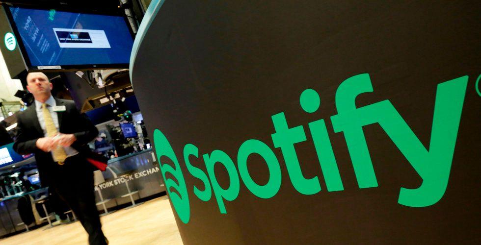 Spotify öppnade starkt – men vände nedåt och stängde på minus