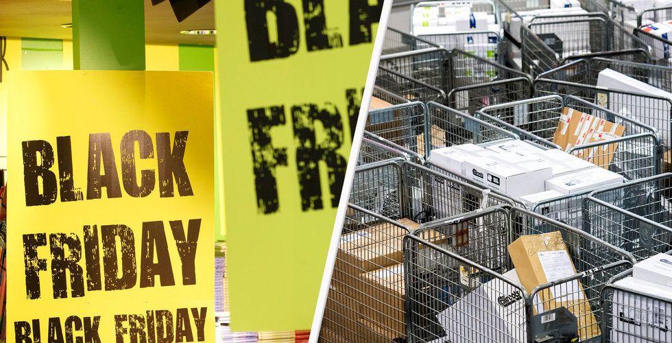 Postnords nödrop efter Black Friday: Hämta era paket nu
