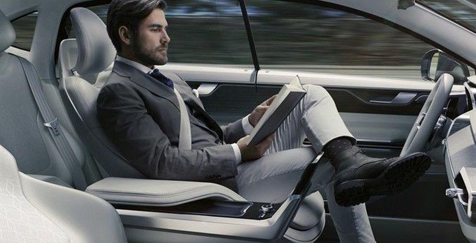 Breakit - Volvo och Ericsson bygger teknik för filmkoll i självkörande bilar