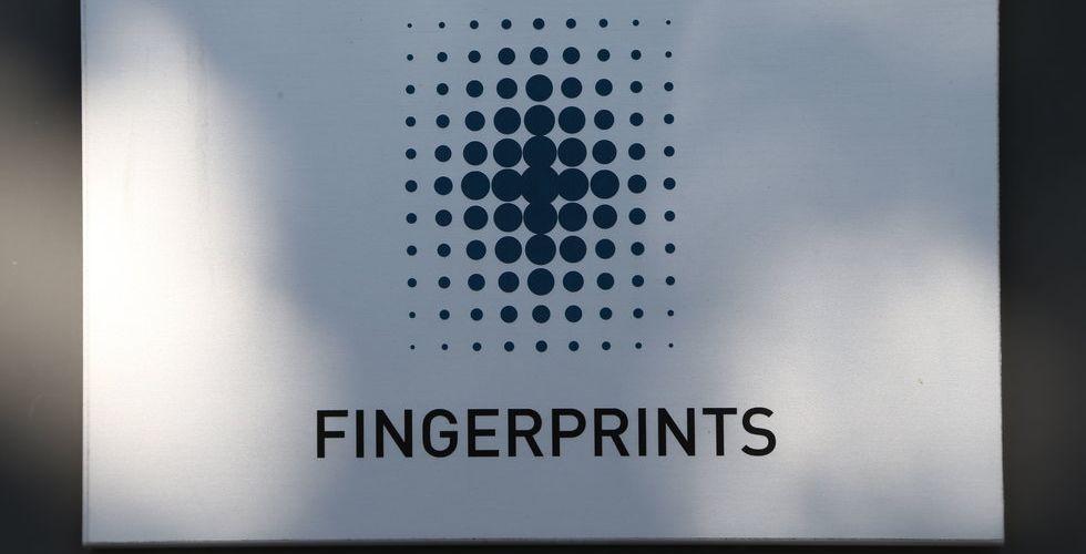 Fingerprints prognos är ute - handeln i aktien stoppad