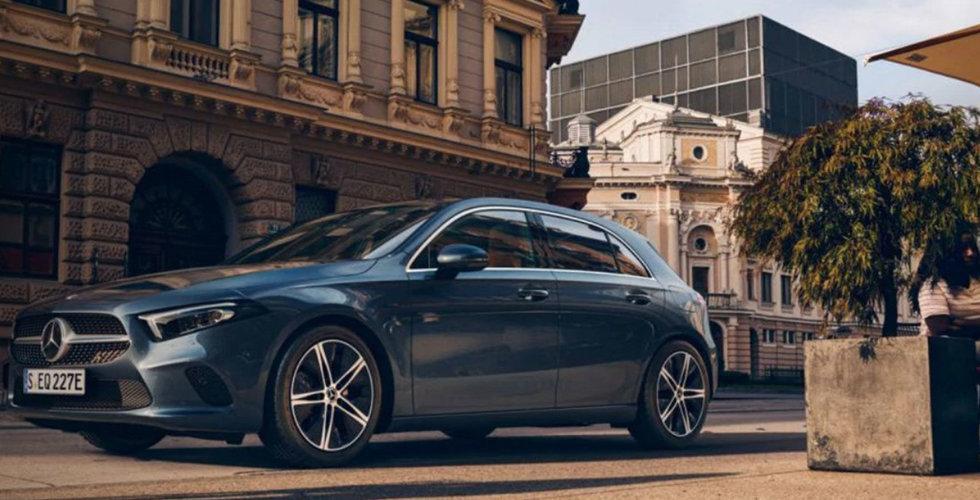 Kompakt, pigg och laddbar – här är Mercedes nya laddhybrid A 250 e