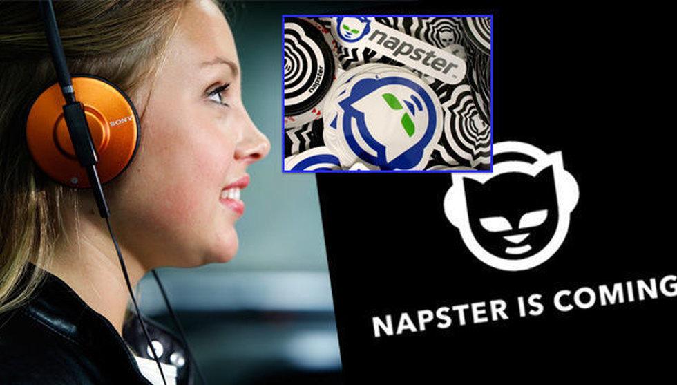 Breakit - Klassiska fildelningstjänsten Napster gör namncomeback