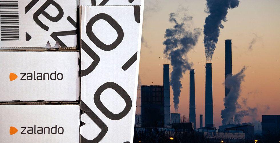 Zalando ska minska koldioxidutsläppen med 80 procent till senast 2025