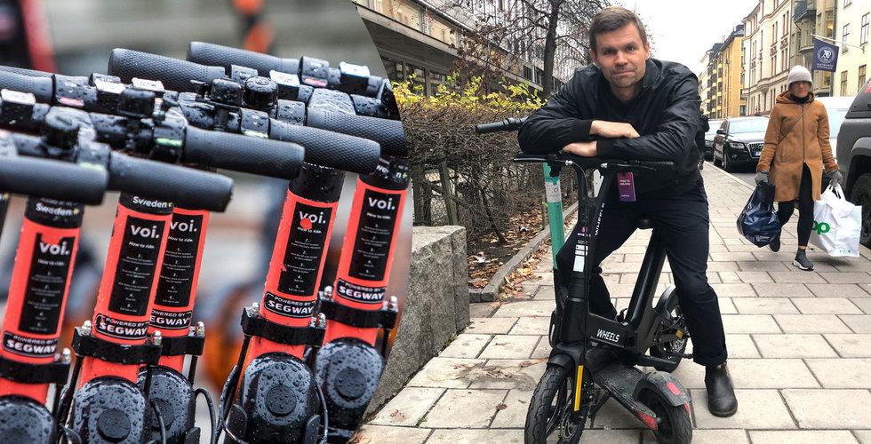 Test: Wheels – så bra (och dåliga) är minicyklarna på el