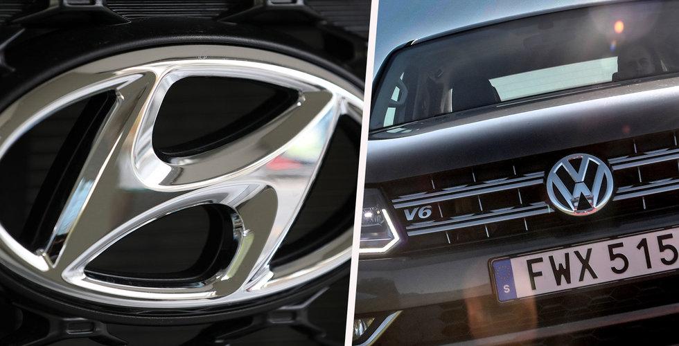 Volkswagen och Hyundai samarbetar med startupen Aurora inom självkörande bilar