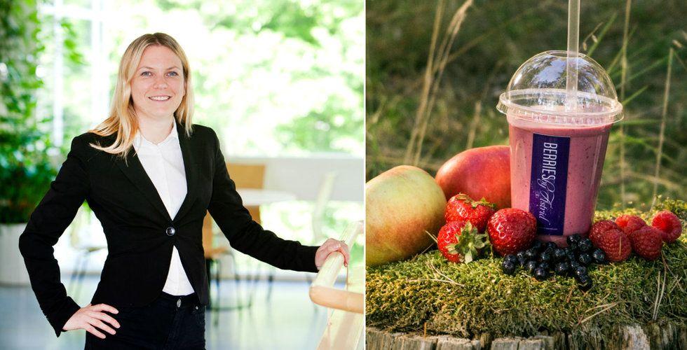 Oriflame-grundaren Robert af Jochnick backar smoothie-startupen Berries by Astrid