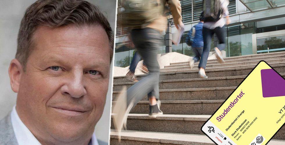 Kris för populära Studentkortet – har inte betalat in skatten