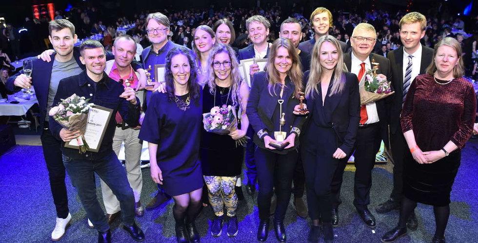 Breakit-journalister prisades med prestigefyllda Guldspaden för cykelgräv