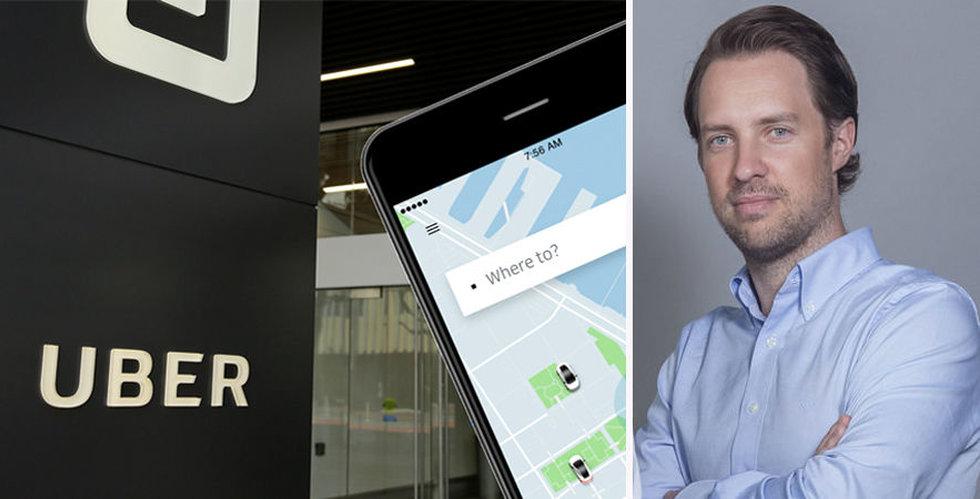 Uber vill köpa Magnus Olssons Careem – för 22 miljarder