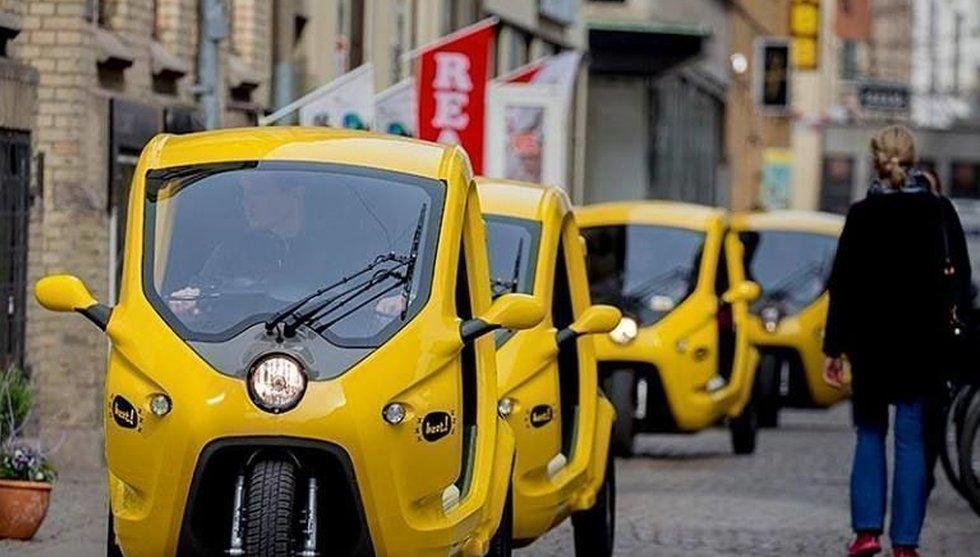 Uber var inte först - Bzzt kringgår redan taxireglerna med tuktuk