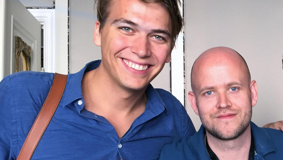 Här är den okända storyn om Daniel Ek och Carl Waldekranz