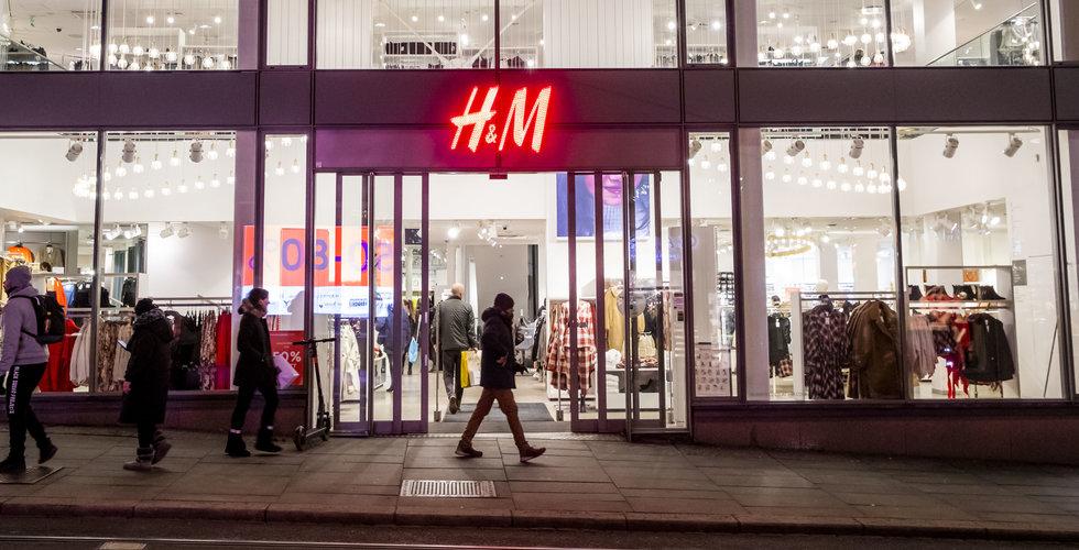 H&M stänger samtliga butiker i Storbritannien