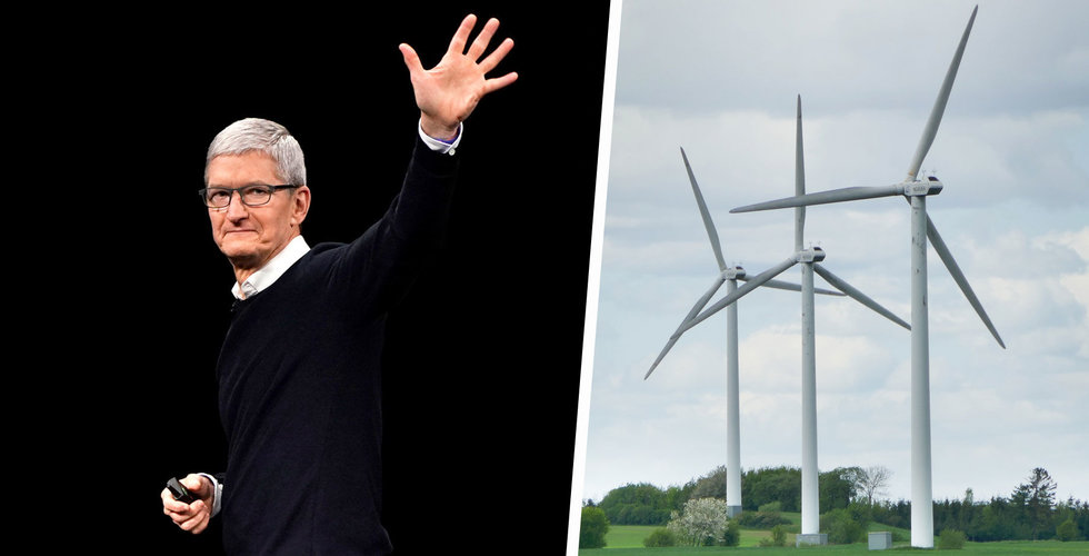 Apple-fond investerar i tre kinesiska vindkraftsprojekt
