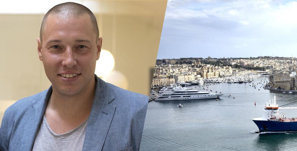 """Breakit - Börsraketen om det oväntade hotet: """"Malta börjar att bli fullt"""""""