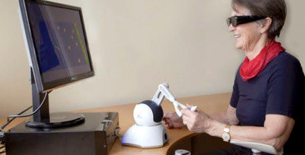 Breakit - Svenska Brain Stimulation lanserar VR-spelet Rehatt som hjälper stroke-patienter
