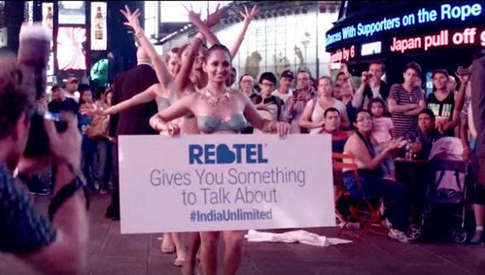 Breakit - Svenska Rebtel marknadsför sina ringtjänster med nakna kvinnor