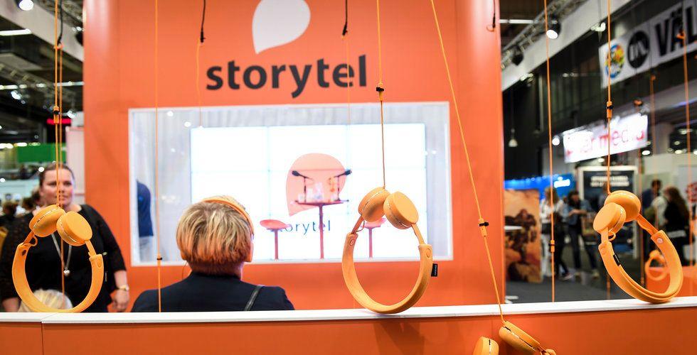 Storytel laddar bössan – ska ta in en halv miljard ikväll