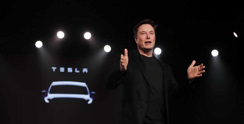 Tesla har tillverkat en miljon bilar