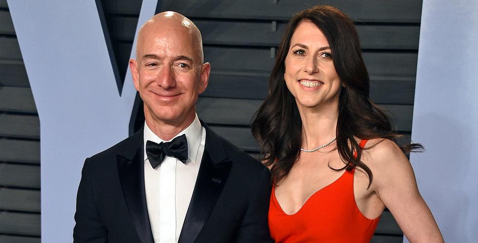 Jeff och Mackenzie Bezos skiljer sig.